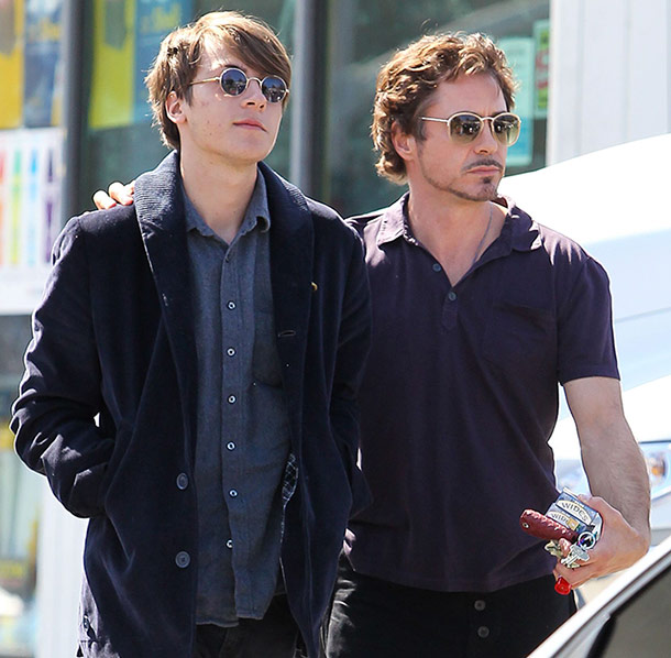 Robert Downey Jrs son Indio charged