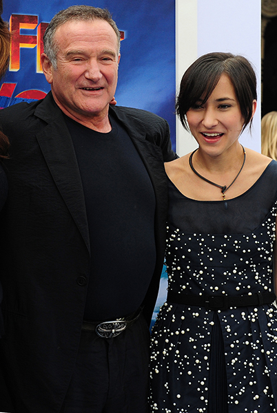 Robin Williams daughter Zelda