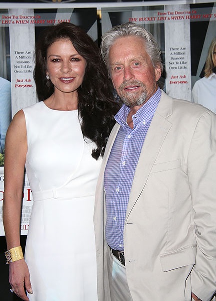 Catherine Zeta Jones and Michael Douglas1-