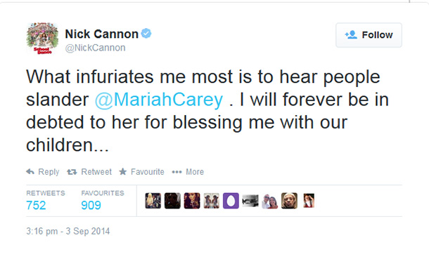 Mariah Carey and Nick Cannon divorce