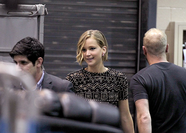 Jennifer Lawrence and Chris Martin together