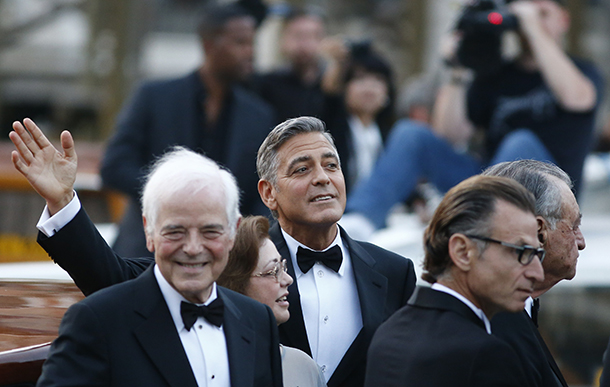George Clooney and Amal Alamuddin