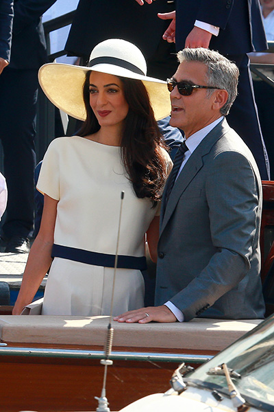 george and amal venice-