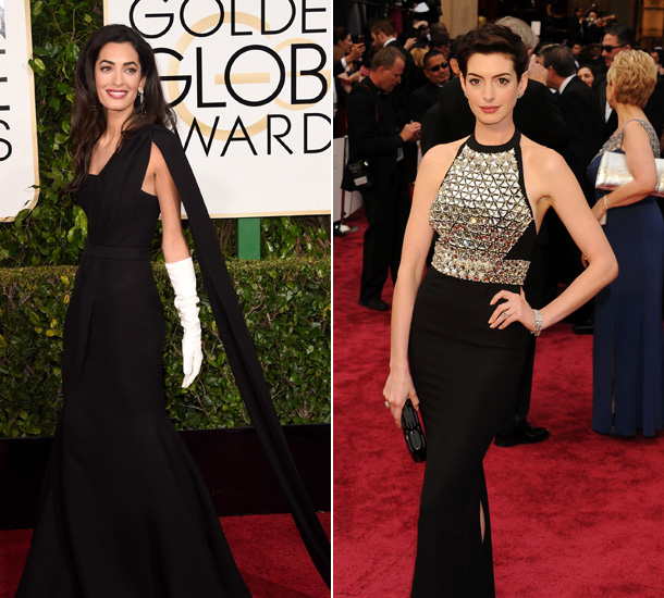 Anne Hathaway One Day: Anne Hathaway Flattered By Comparison To Amal Clooney