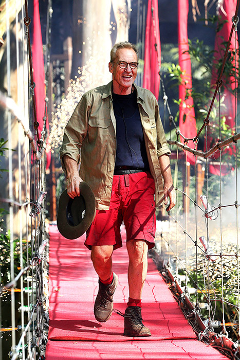 Larry Lamb becomes sixth star to leave I'm A Celebrity