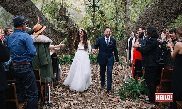 wedding picture troian bellisario