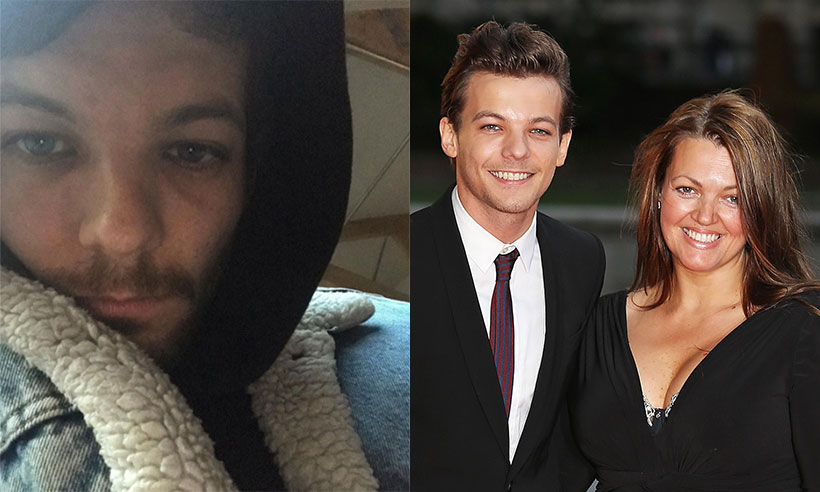 Louis Tomlinson welcomes in new year after difficult 2016