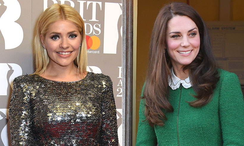 Holly Willoughby and duchess kate