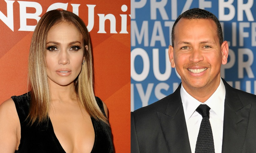 Jennifer Lopez and Alex Rodriuez