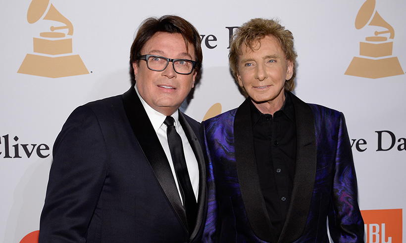 barry manilow with garry keif
