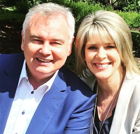 eamonn holmes posts funny throwback photo of him ruth. Black Bedroom Furniture Sets. Home Design Ideas