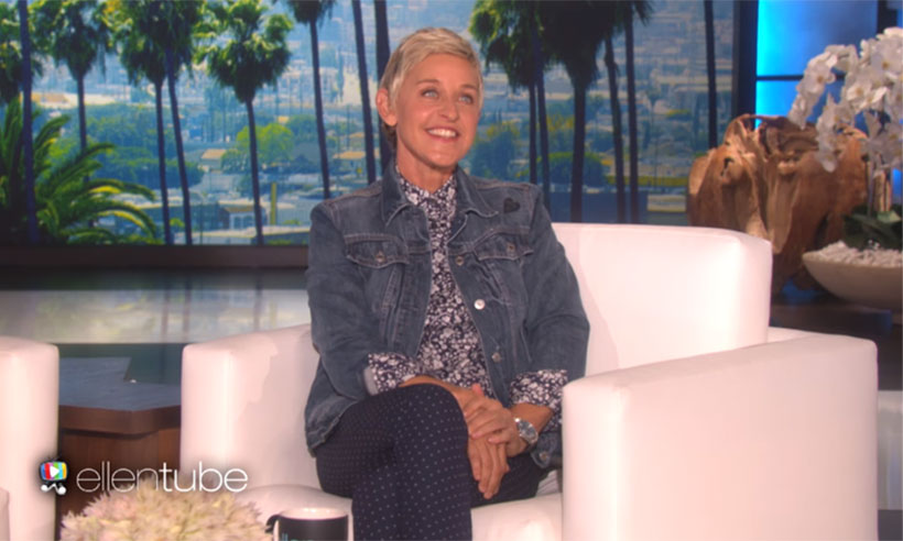Ellen DeGeneres catches audience member stealing – see the hilarious video