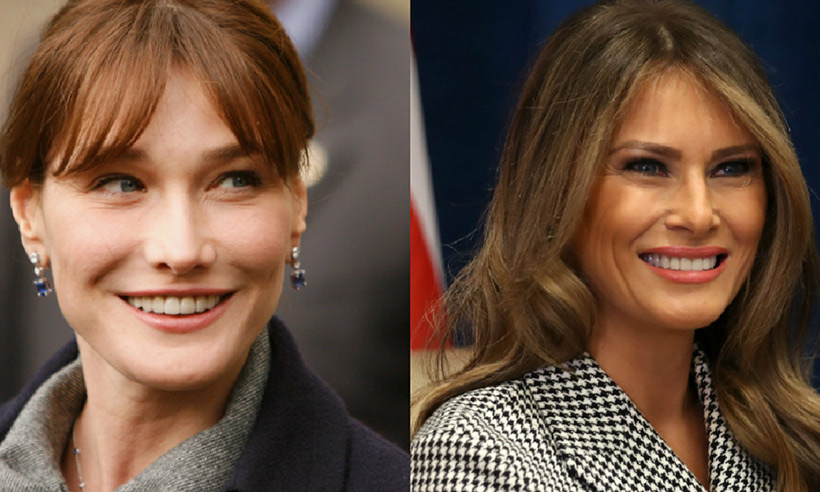Melania Trump Receives First Lady Advice From Carla Bruni