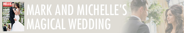 Mark and Michelle's magical wedding