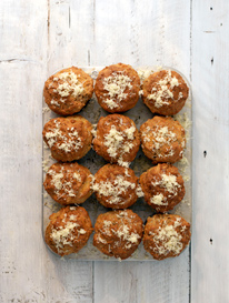Fennel and Jarlsberg muffins