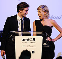 Amfar, Cannes, Sharon Stone, Robert Pattinson, Bill Clinton, auction, Natasha Richardson, Liam Neeson, celebrities, gala, benefit, charity, AIDS, Elizabeth Hurley, Lily Cole, Madonna,  Paris Hilton, Diane Kruger, Peaches Geldof, Hayden Panettiere