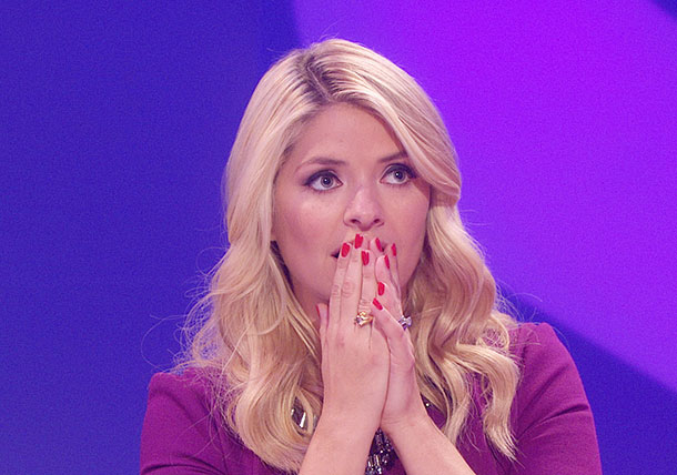 Holly Willoughby is pranked on Ant and Dec's Saturday Night Takeaway.
