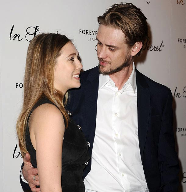 Elizabeth Olsen and Body Holbrook