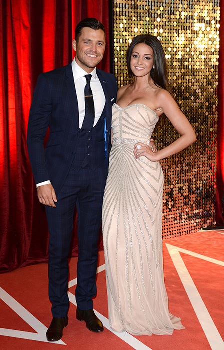 Michelle Keegan and partner Mark Wright