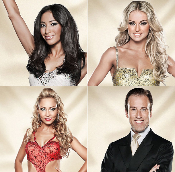 Strictly Come dancing 2014 dancers