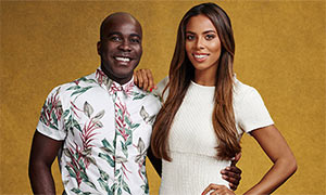 X Factor 2015: Rochelle Humes and Melvin Odoom talk about the 'family vibe' on the show