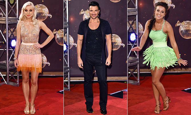 Strictly Come Dancing stars go for glamour at the new series launch party