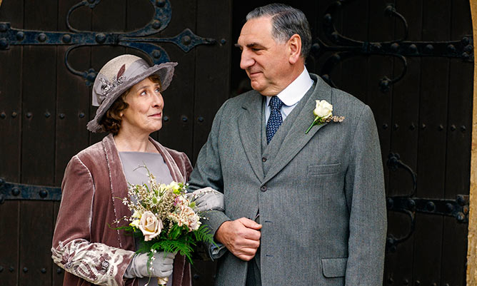 Downton Abbey wedding: first photos revealed