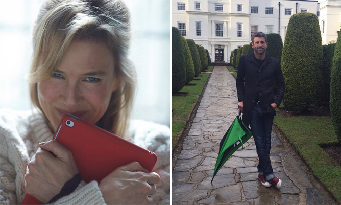 Bridget Jones is back! The first picture for Bridget Jones's baby has been released