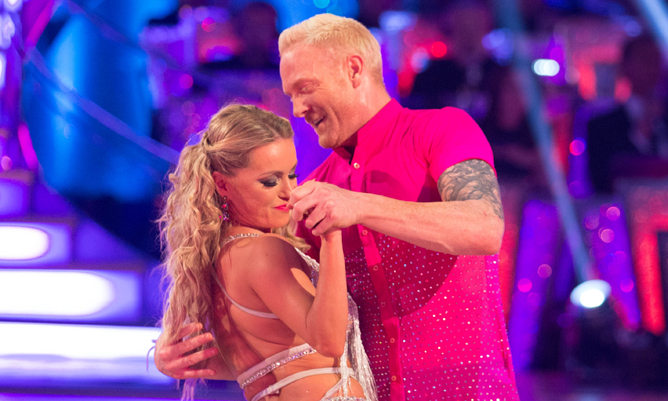 Ola Jordan and Iwan Thomas first to leave Strictly Come Dancing