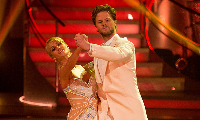 Jay McGuiness on his talented Strictly dance partner Aliona Vilani