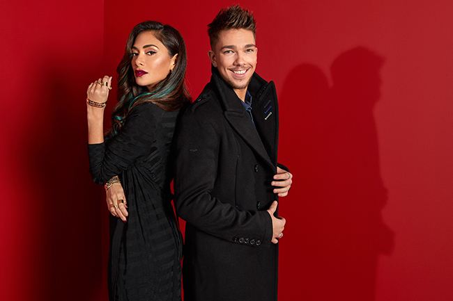 Matt Terry with Nicole Scherzinger
