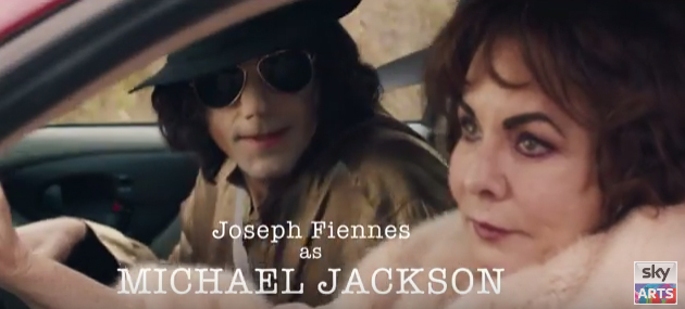 First look at Joseph Fiennes as Michael Jackson in Urban Myths trailer