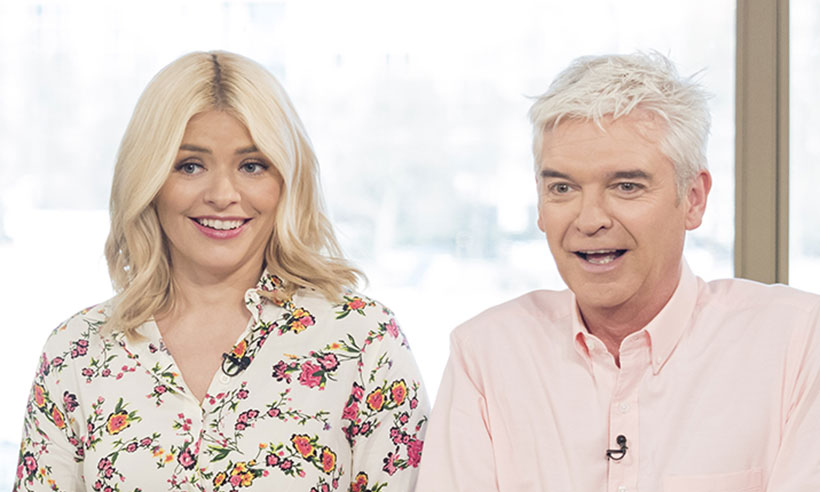 Holly Willoughby Left Blushing As Nigel Havers Tries To