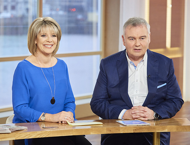 eamonn holmes replacing piers morgan on good morning britain. Black Bedroom Furniture Sets. Home Design Ideas