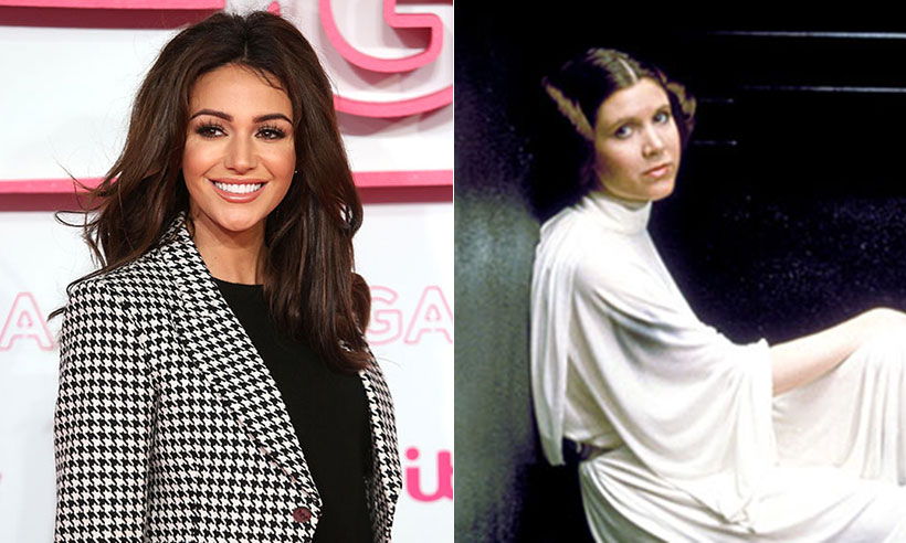 Michelle Keegan Princess Leia