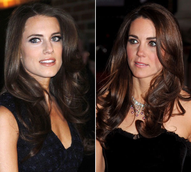 Allison Williams & Kate Middleton