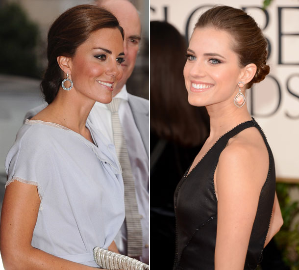 Kate Middleton & Allison Williams