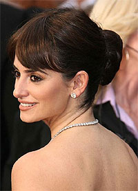 Penelope Cruz,Oscars,hair,Paul Labrecque,Audrey Hepburn,recreate