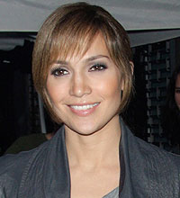 Jennifer Lopez,long hair,layers,fringe,hairdresser,style