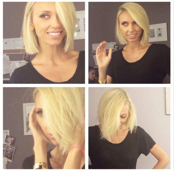 Giuliana rancic blonde