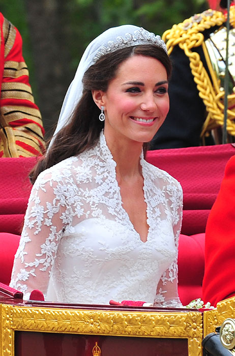 Kate Middleton wins best bridal hair