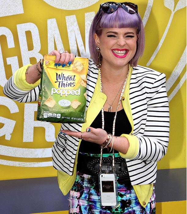 kelly osbourne wheat thins
