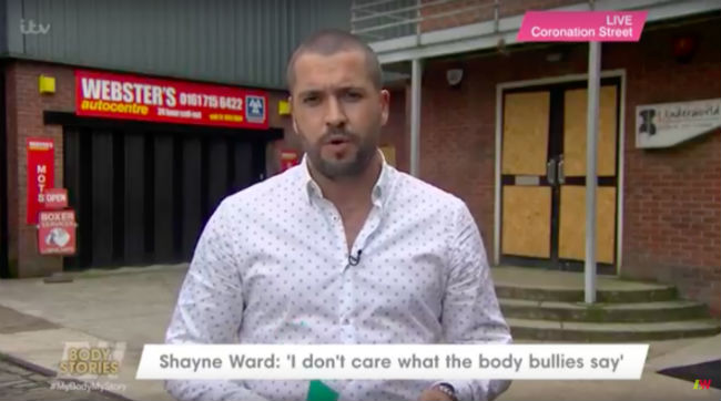 Shayne Ward Responds To Fat-shaming Abuse On Loose Women
