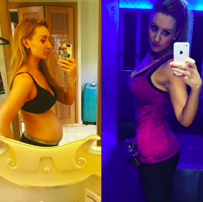 catherine-tyldesley-bloated