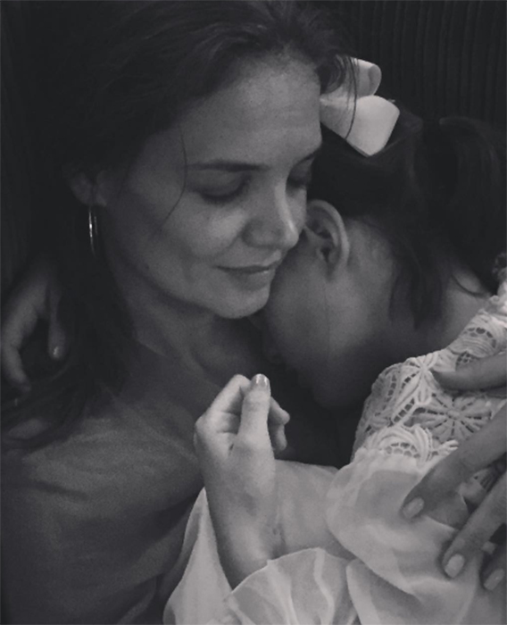 Katie Holmes talks about home life with daughter Suri Cruise