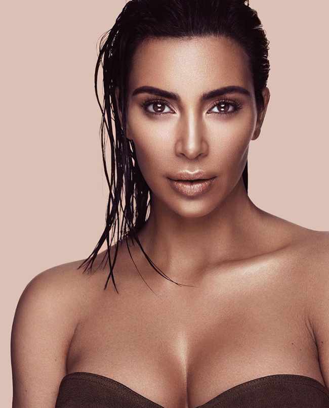 Kim Kardashian has launched a new collection of make-up