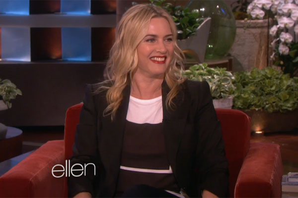Kate Winslet on the Ellen Show