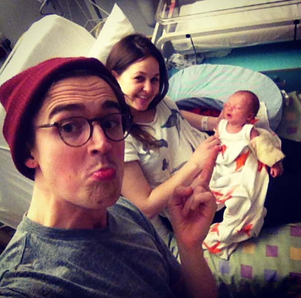 Giovanna, Buzz and Tom Fletcher
