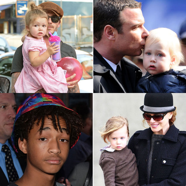 celebrity children july