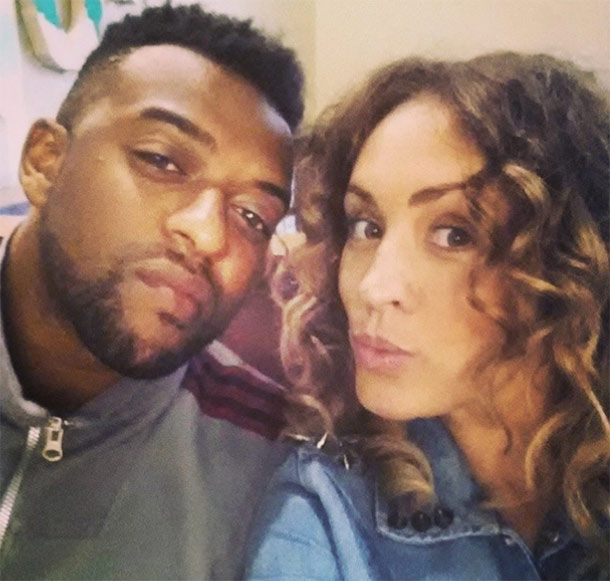 Oritse has announced he is to become a dad